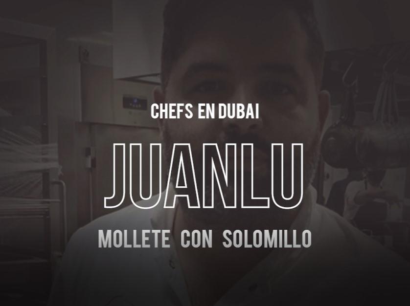 Fans del vacuno por el mundo Mollete de solomillo del chef Juanlu