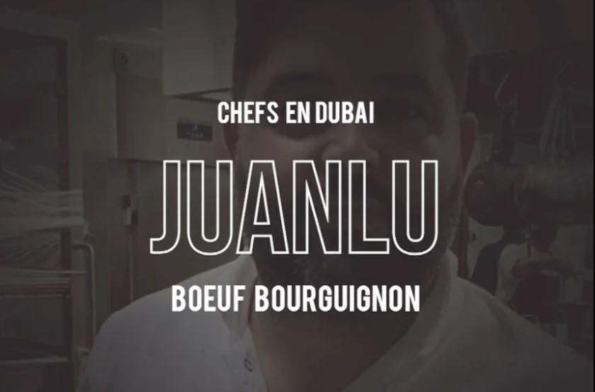 Fans del vacuno por el mundo Boeuf Bourgignon del chef Juanlu