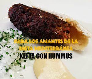 Kefta con Hummus |